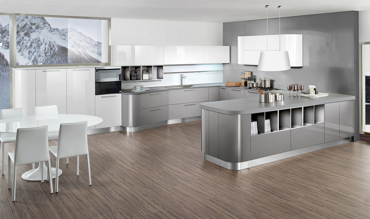Gallery cucine moderne outlet arreda arredamento for Design cucina