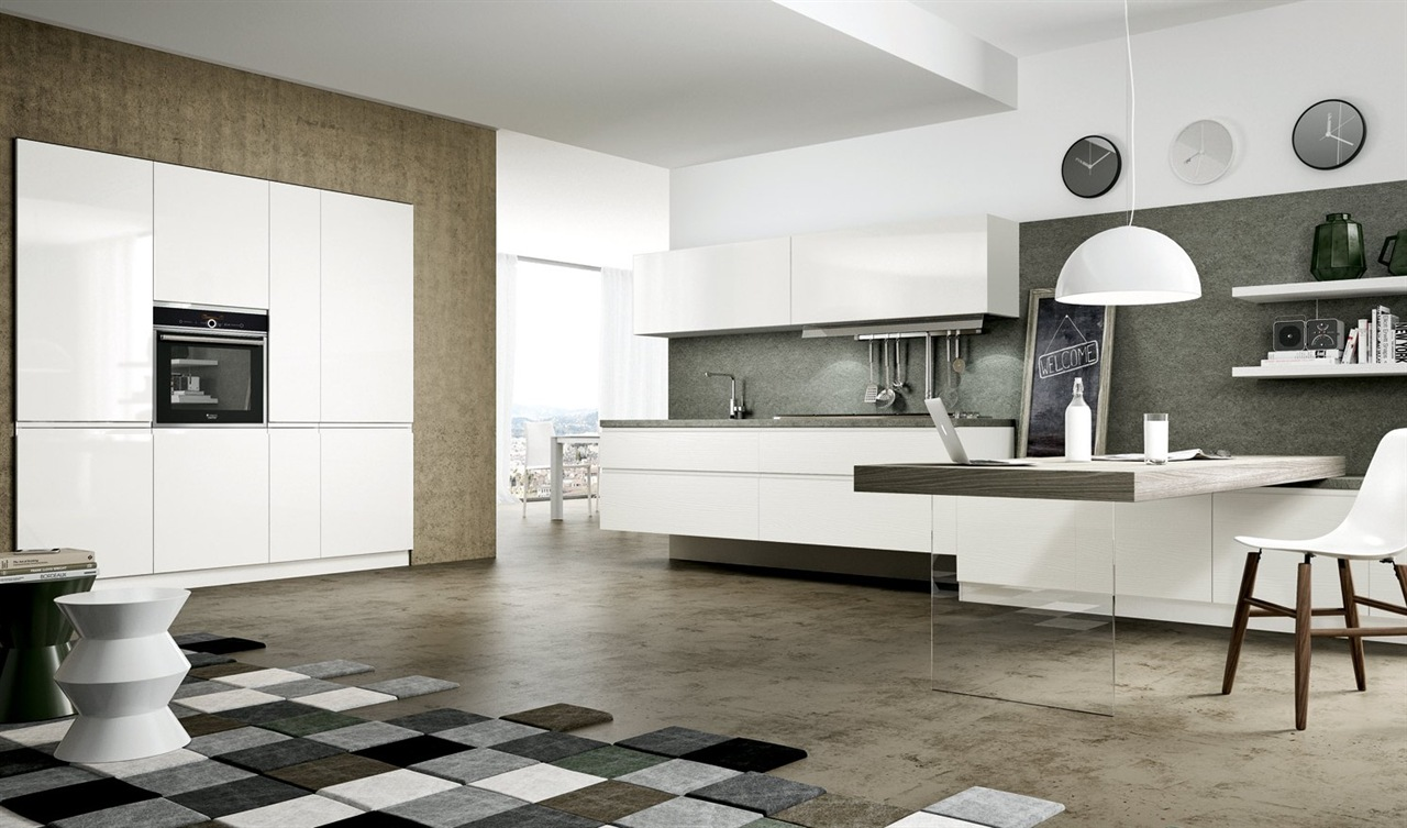 Gallery cucine moderne outlet arreda arredamento for Mobili di design plaza