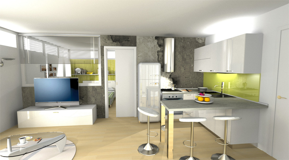 Cucine Open Space Con Isola ~ duylinh for
