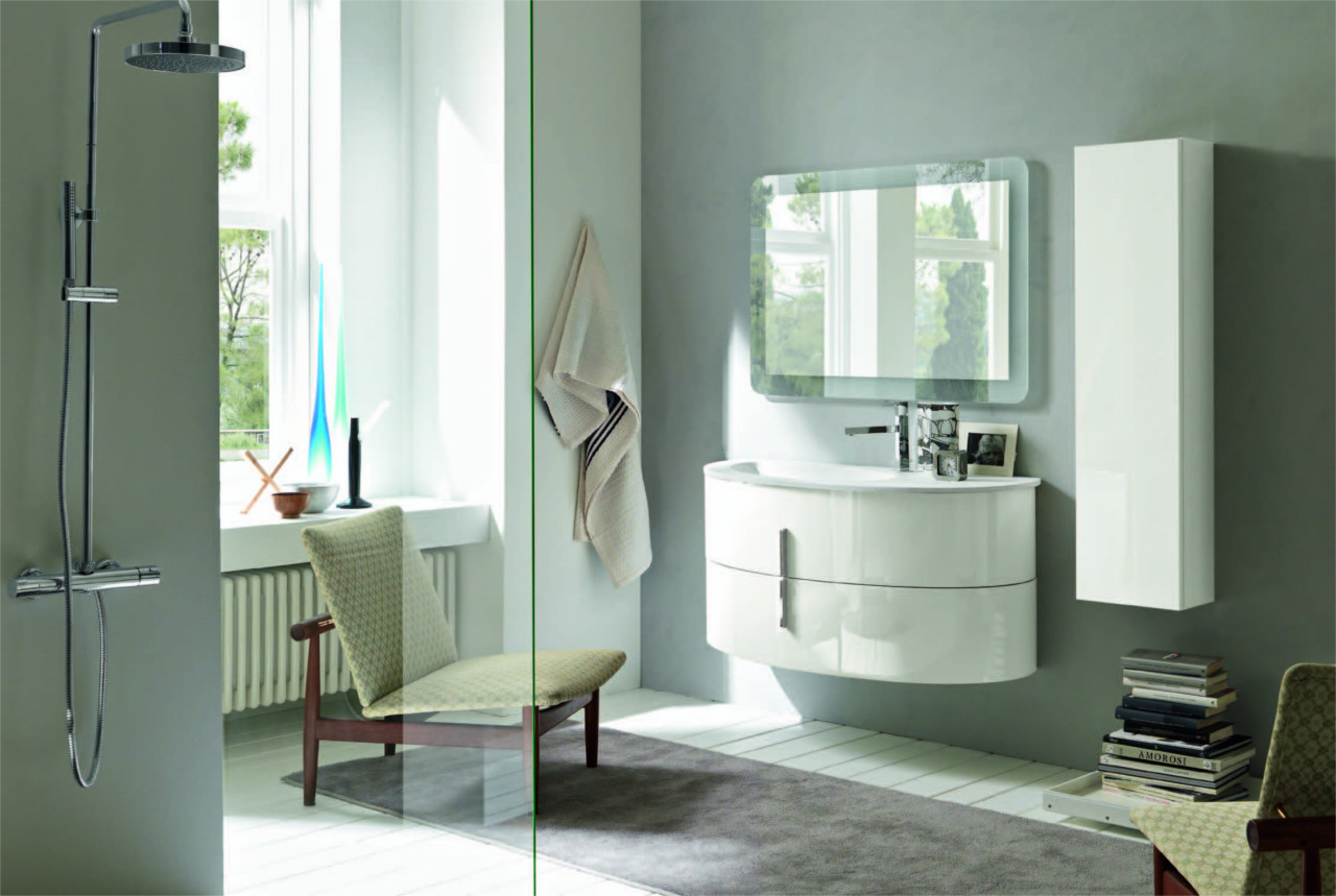 Gallery arredo bagno outlet arreda arredamento for Mobiletto design