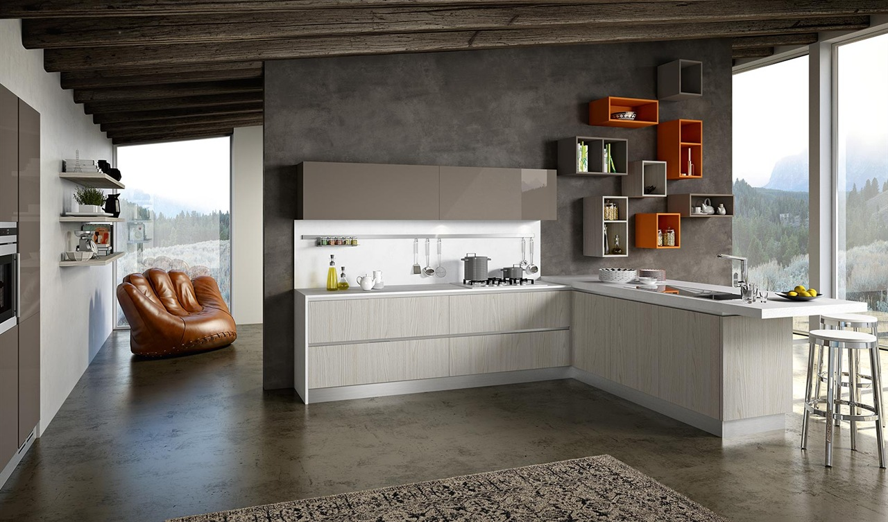 Gallery cucine moderne outlet arreda arredamento for Outlet arredo