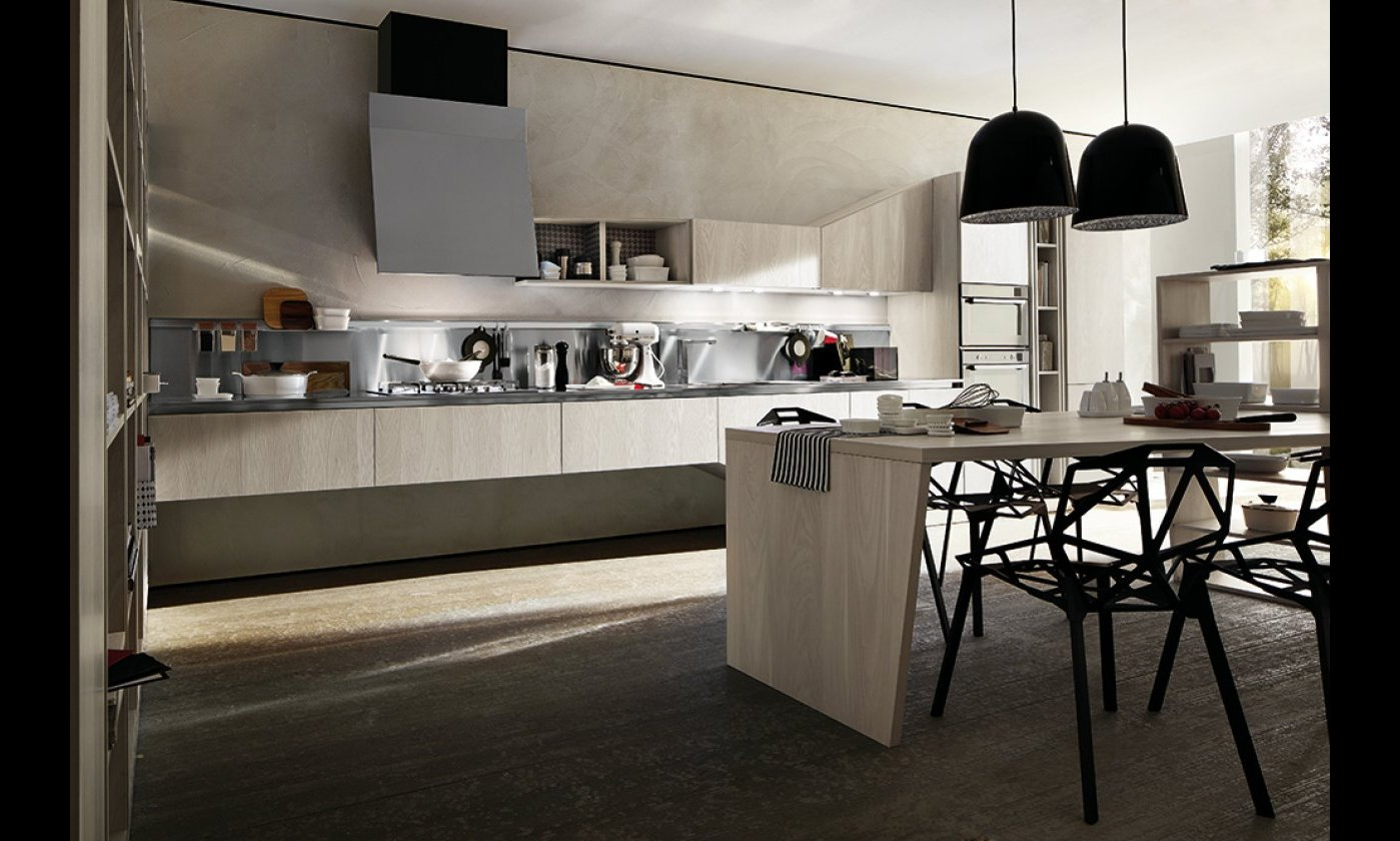Gallery cucine moderne outlet arreda arredamento for Mobili design