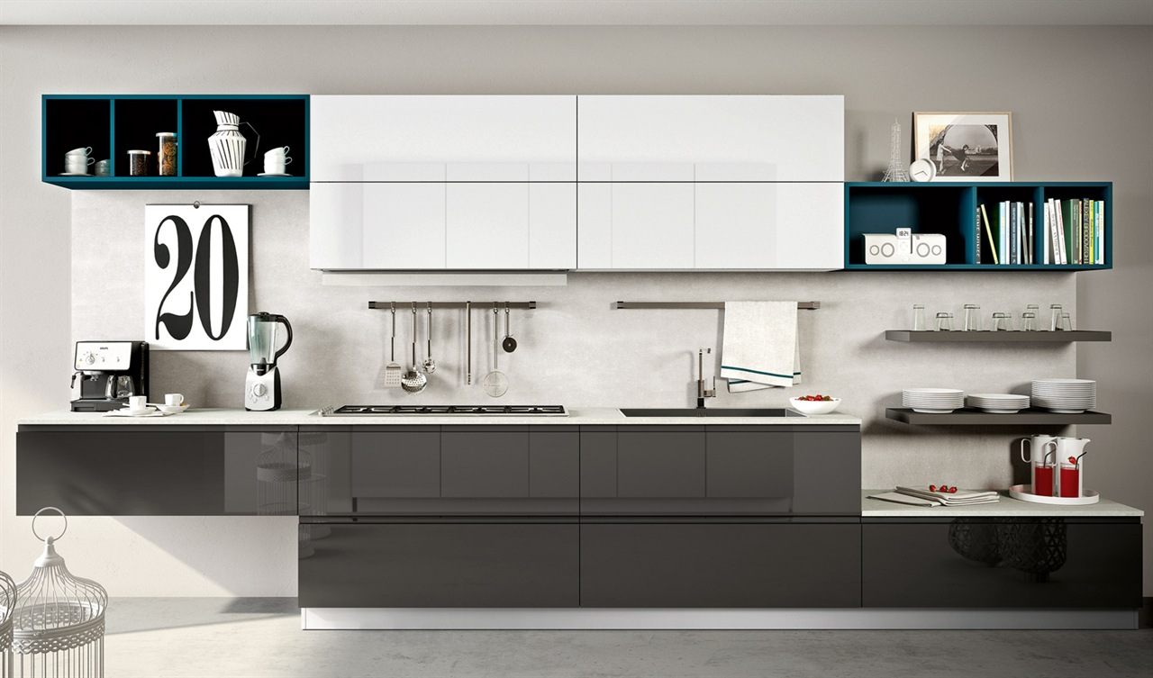 Gallery cucine moderne outlet arreda arredamento for Design arredamento outlet